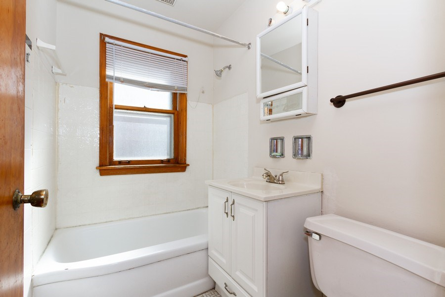 Real Estate Photography - 14132 Dearborn St, Riverdale, IL, 60827 - Bathroom