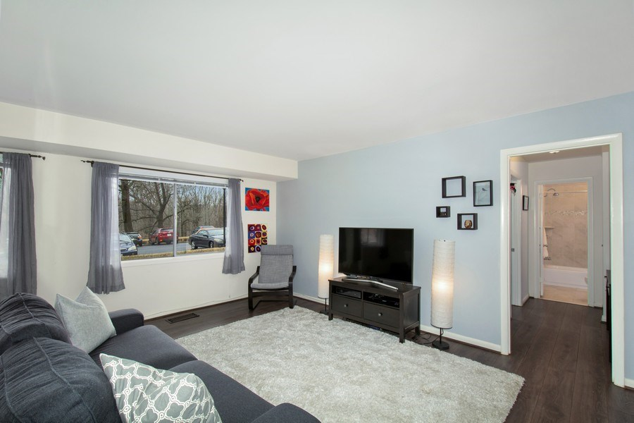 Real Estate Photography - 10696 Weymouth, Bethesda, MD, 20814 - Living Room
