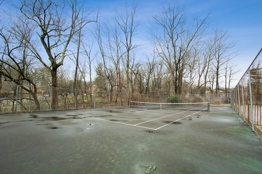 Real Estate Photography - 10696 Weymouth, Bethesda, MD, 20814 - Tennis Court