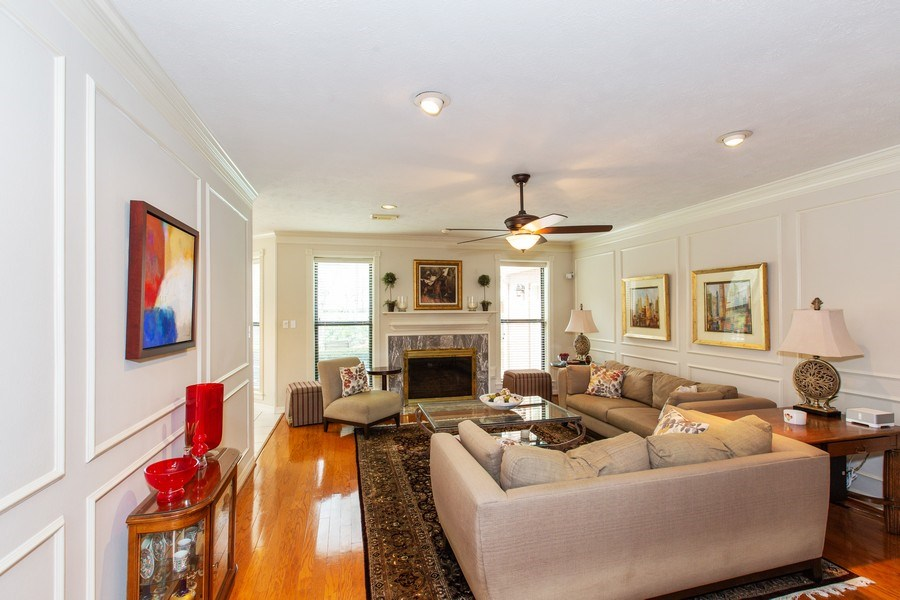 Real Estate Photography - 408 Fieldcreek Dr, Friendswood, TX, 77546 - Family Room