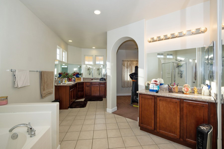 Real Estate Photography - 47298 Twin Pine Rd, Banning, CA, 92220 - Master Bathroom