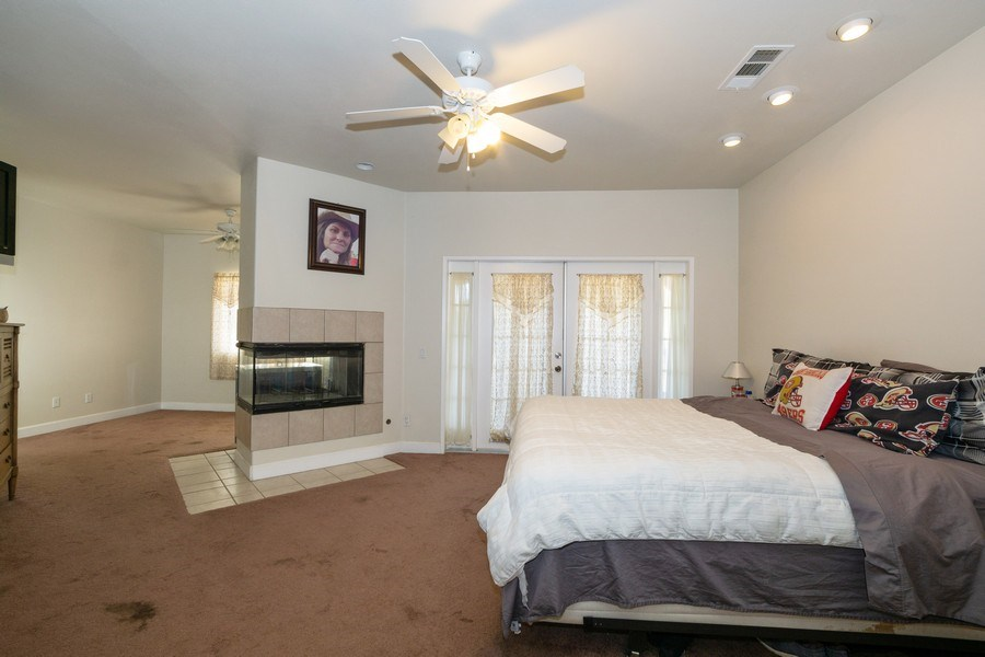 Real Estate Photography - 47298 Twin Pine Rd, Banning, CA, 92220 - Master Bedroom
