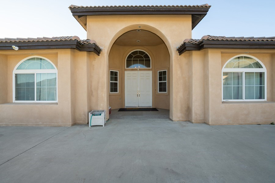 Real Estate Photography - 47298 Twin Pine Rd, Banning, CA, 92220 - Entrance