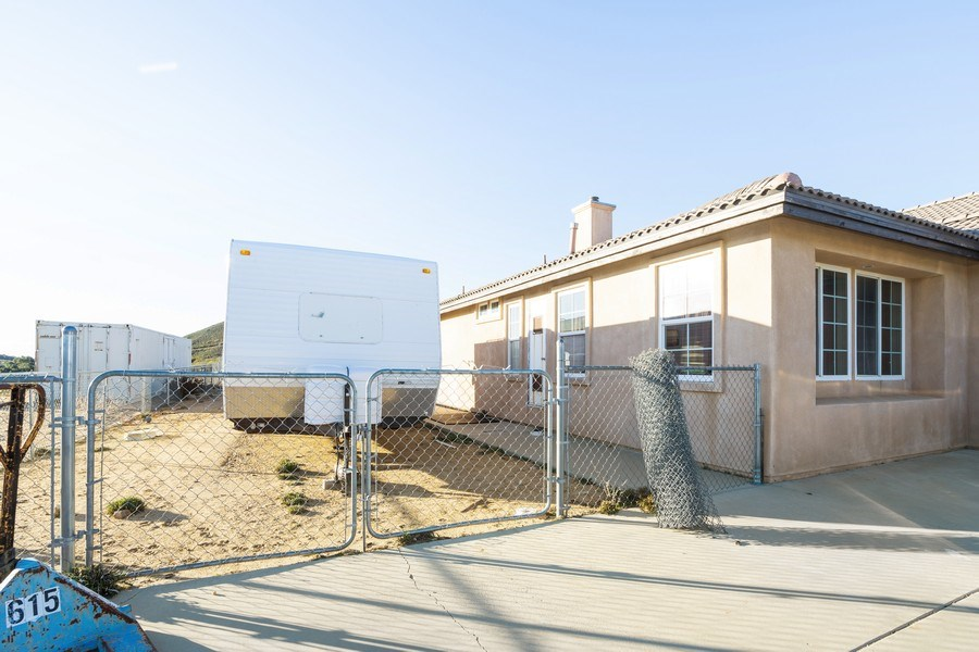 Real Estate Photography - 47298 Twin Pine Rd, Banning, CA, 92220 - Parking Area
