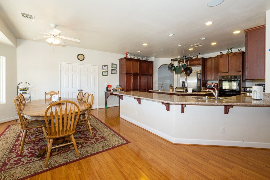 Real Estate Photography - 47298 Twin Pine Rd, Banning, CA, 92220 - Kitchen / Dining Room