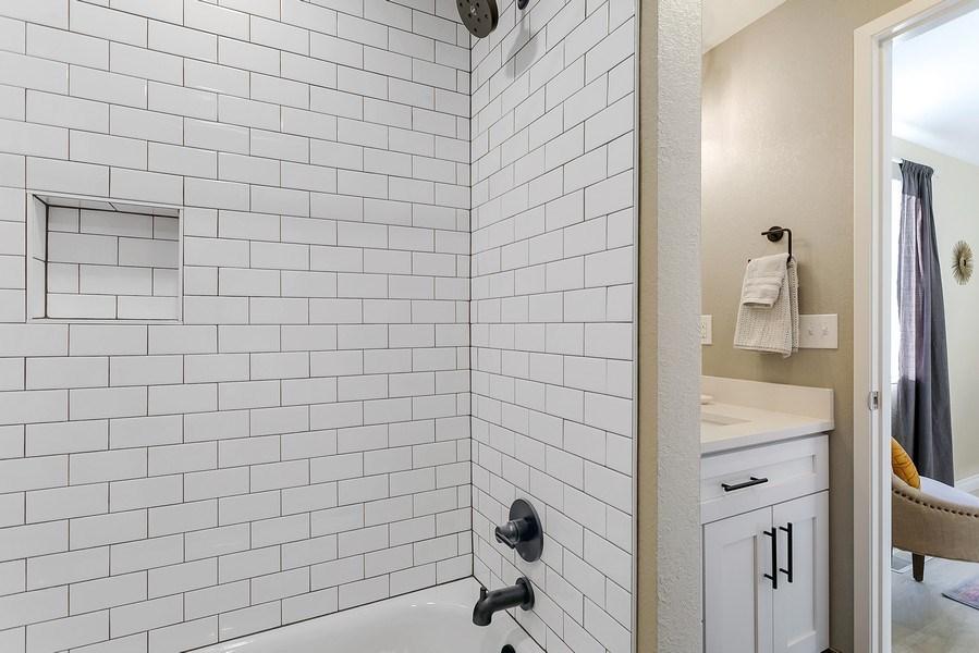 Real Estate Photography - 3615 East Bay Drive, Gig Harbor, WA, 98335 - Master Bathroom