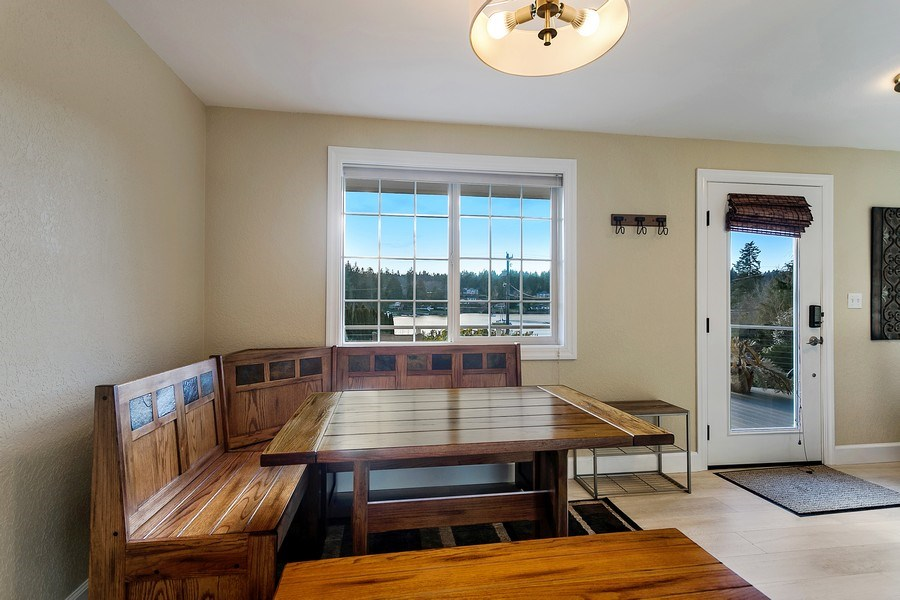 Real Estate Photography - 3615 East Bay Drive, Gig Harbor, WA, 98335 - Dining Room