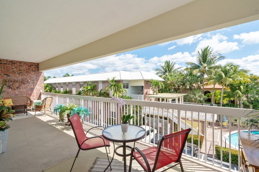 Real Estate Photography - 2420 SE 17th Street Cswy #308C, Fort Lauderdale, FL, 33316 - Patio