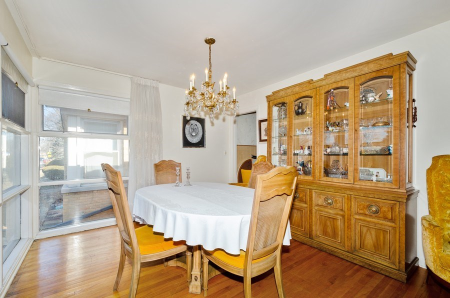 Real Estate Photography - 7407 N California Ave, Chicago, IL, 60645 - Dining Room