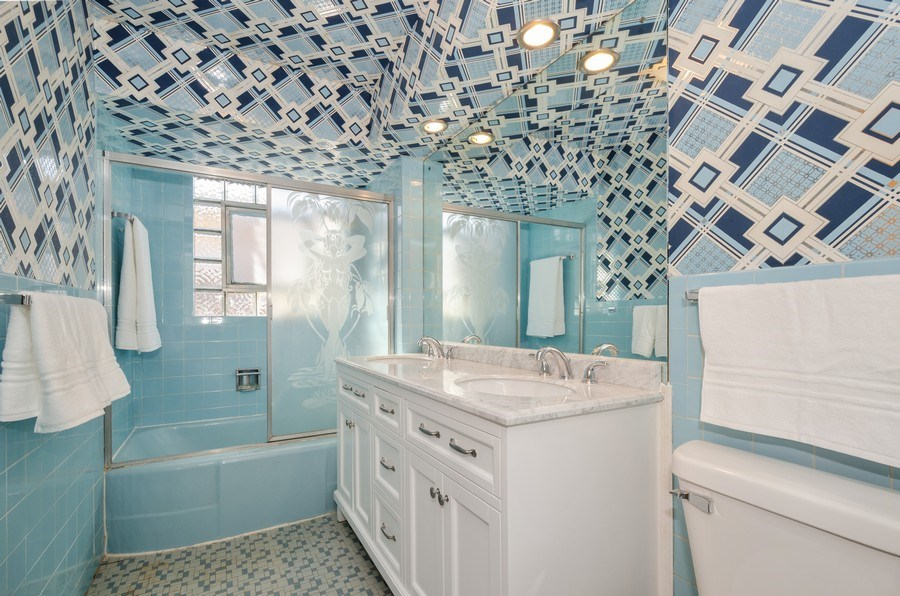 Real Estate Photography - 7407 N California Ave, Chicago, IL, 60645 - Bathroom