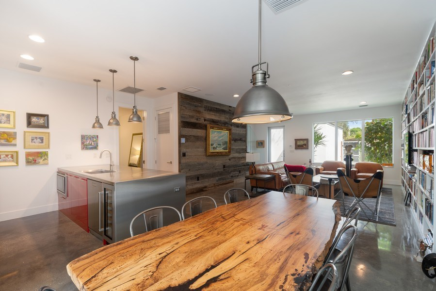 Real Estate Photography - 1922 Hammerlin Ave, Winter Park, FL, 32789 - Dining Room