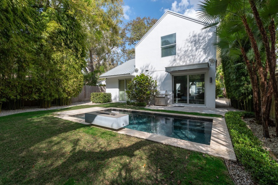 Real Estate Photography - 1922 Hammerlin Ave, Winter Park, FL, 32789 - Rear View