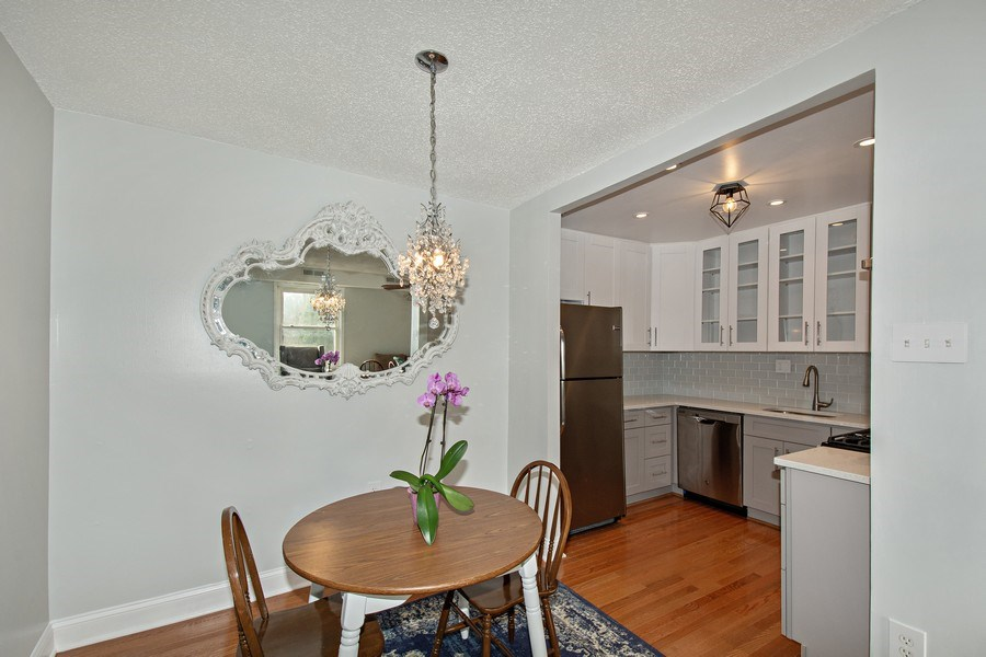 Real Estate Photography - 3815 Swann Rd, Unit 204, Suitland, MD, 20746 - Dining Room