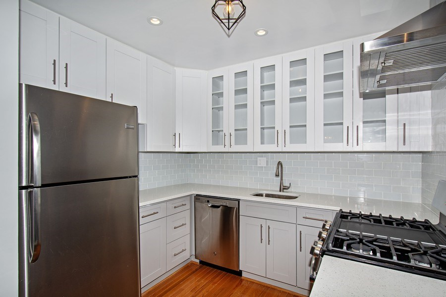 Real Estate Photography - 3815 Swann Rd, Unit 204, Suitland, MD, 20746 - Kitchen