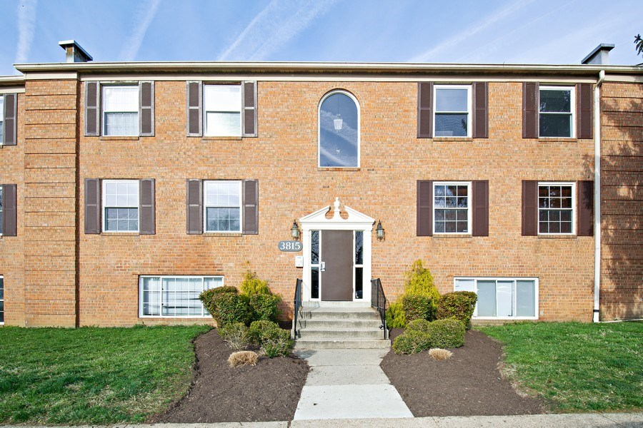 Real Estate Photography - 3815 Swann Rd, Unit 204, Suitland, MD, 20746 - Front View