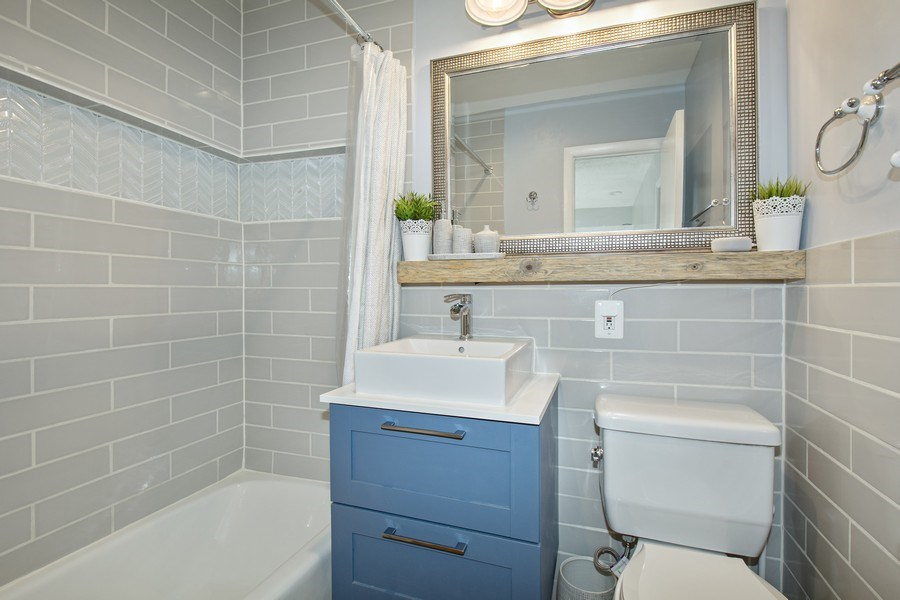 Real Estate Photography - 3815 Swann Rd, Unit 204, Suitland, MD, 20746 - Bathroom