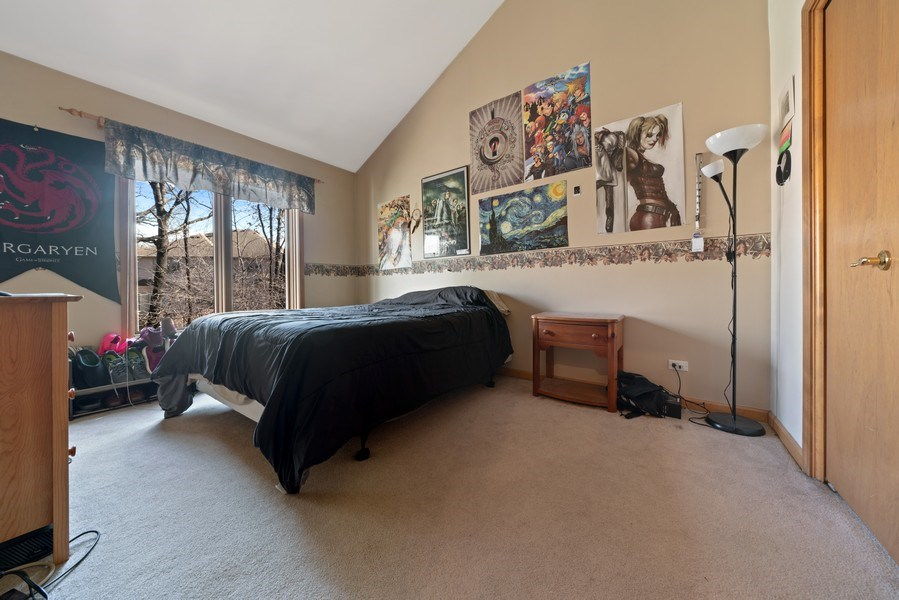 Real Estate Photography - 722 Feather Sound Dr, Bolingbrook, IL, 60440 - 3rd Bedroom