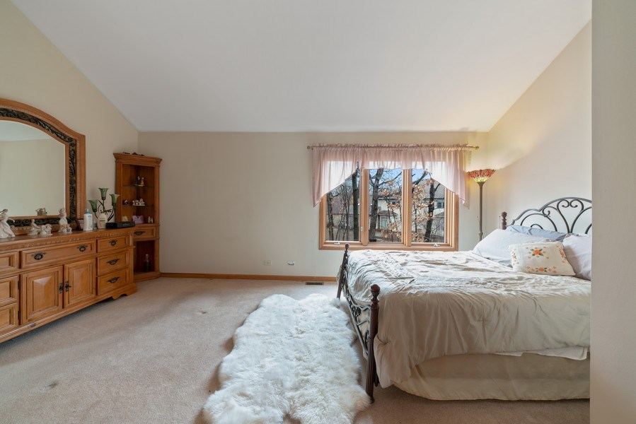 Real Estate Photography - 722 Feather Sound Dr, Bolingbrook, IL, 60440 - Master Bedroom