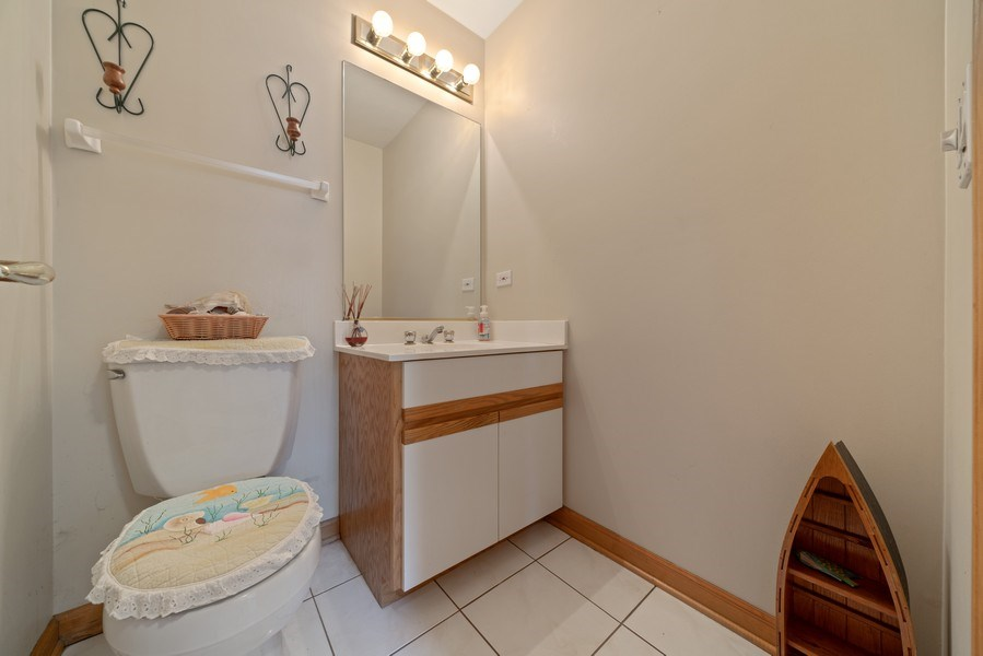 Real Estate Photography - 722 Feather Sound Dr, Bolingbrook, IL, 60440 - Powder Room
