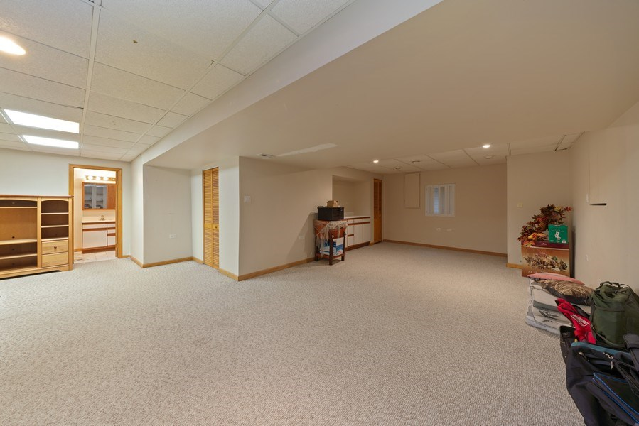 Real Estate Photography - 722 Feather Sound Dr, Bolingbrook, IL, 60440 - Basement