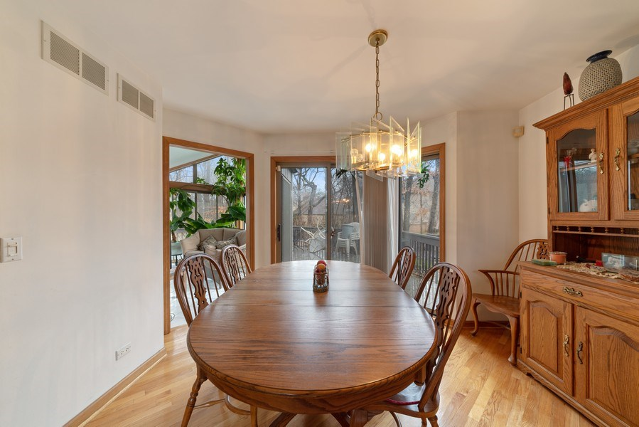 Real Estate Photography - 722 Feather Sound Dr, Bolingbrook, IL, 60440 - Dining Room