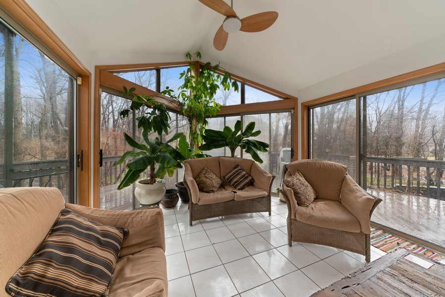 Real Estate Photography - 722 Feather Sound Dr, Bolingbrook, IL, 60440 - Sun Room