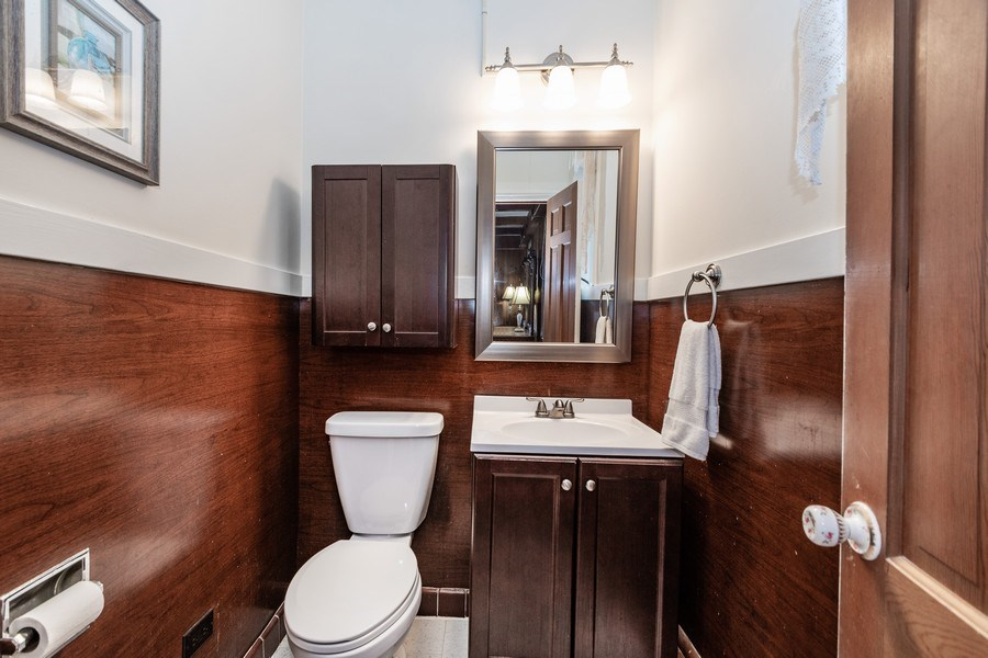 Real Estate Photography - 20353 Hilltop Road, Mokena, IL, 60448 - Master Bathroom