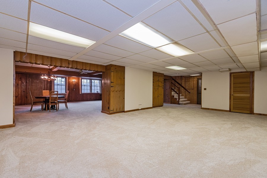 Real Estate Photography - 20353 Hilltop Road, Mokena, IL, 60448 - Recreational Room