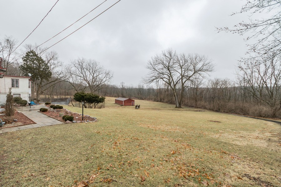 Real Estate Photography - 20353 Hilltop Road, Mokena, IL, 60448 - Back Yard