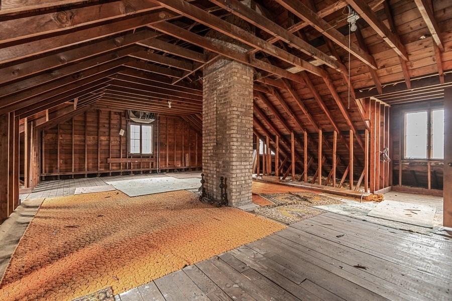 Real Estate Photography - 20353 Hilltop Road, Mokena, IL, 60448 - Attic