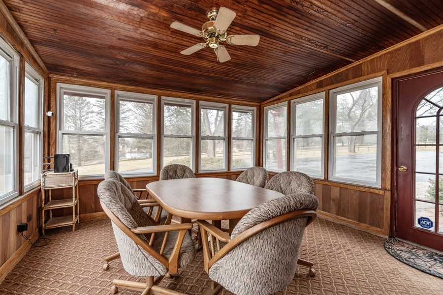 Real Estate Photography - 20353 Hilltop Road, Mokena, IL, 60448 - Porch