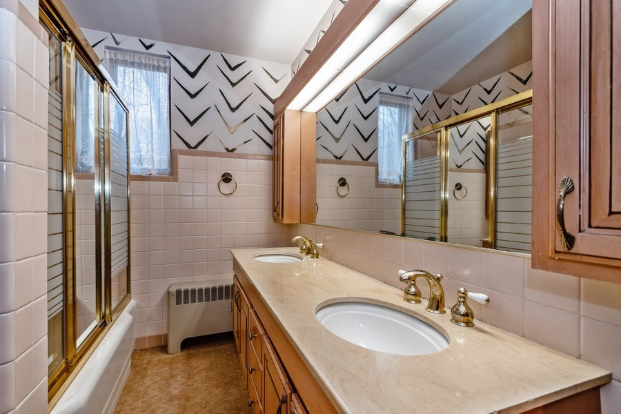 Real Estate Photography - 20353 Hilltop Road, Mokena, IL, 60448 - Bathroom