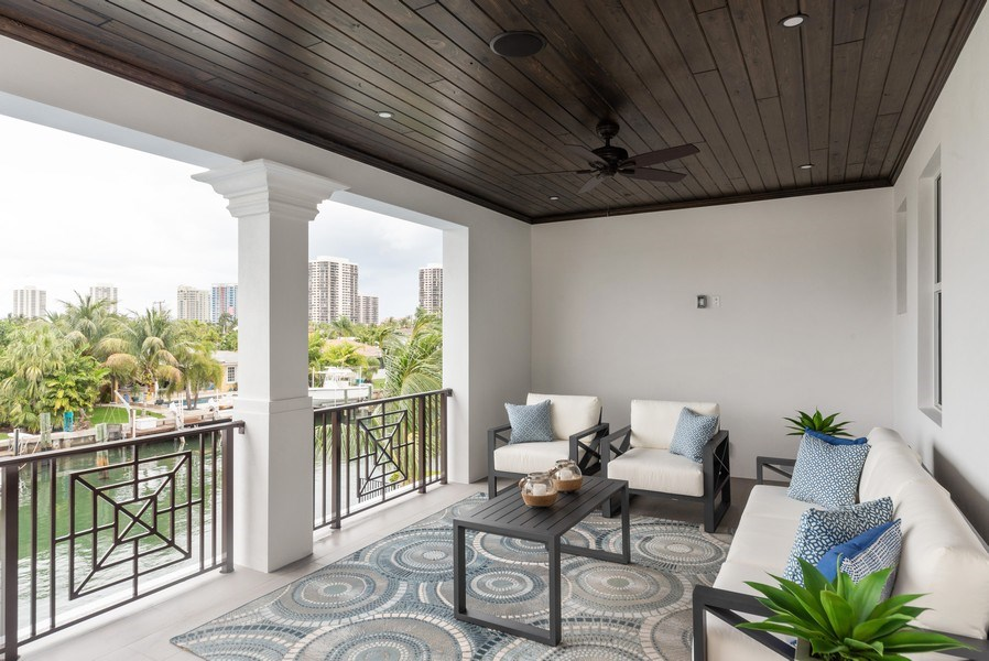 Real Estate Photography - 1200 Bimini Lane, Singer Island, FL, 33408 - Terrace