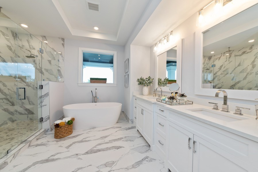 Real Estate Photography - 1200 Bimini Lane, Singer Island, FL, 33408 - Master Bathroom