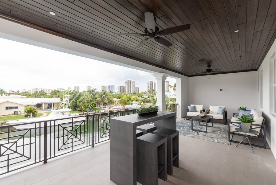 Real Estate Photography - 1200 Bimini Lane, Singer Island, FL, 33408 - Terrace 2