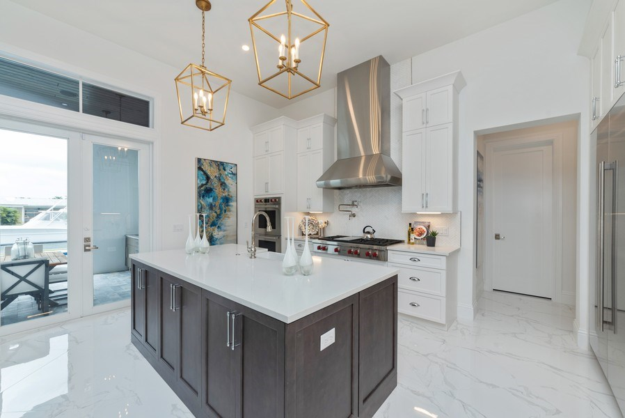 Real Estate Photography - 1200 Bimini Lane, Singer Island, FL, 33408 - Kitchen
