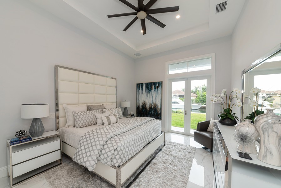 Real Estate Photography - 1200 Bimini Lane, Singer Island, FL, 33408 - Master Bedroom