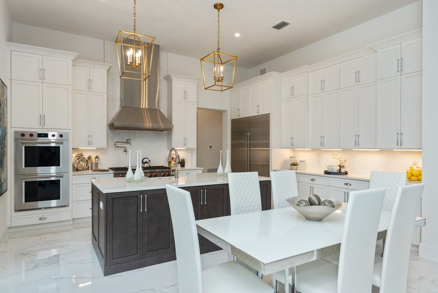 Real Estate Photography - 1200 Bimini Lane, Singer Island, FL, 33408 - Kitchen / Breakfast Room