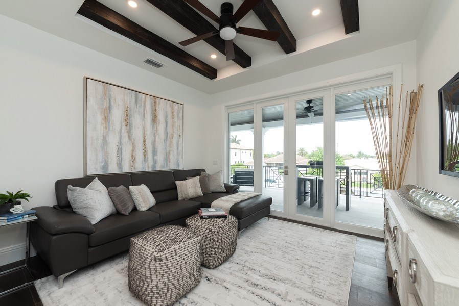 Real Estate Photography - 1200 Bimini Lane, Singer Island, FL, 33408 - Family Room