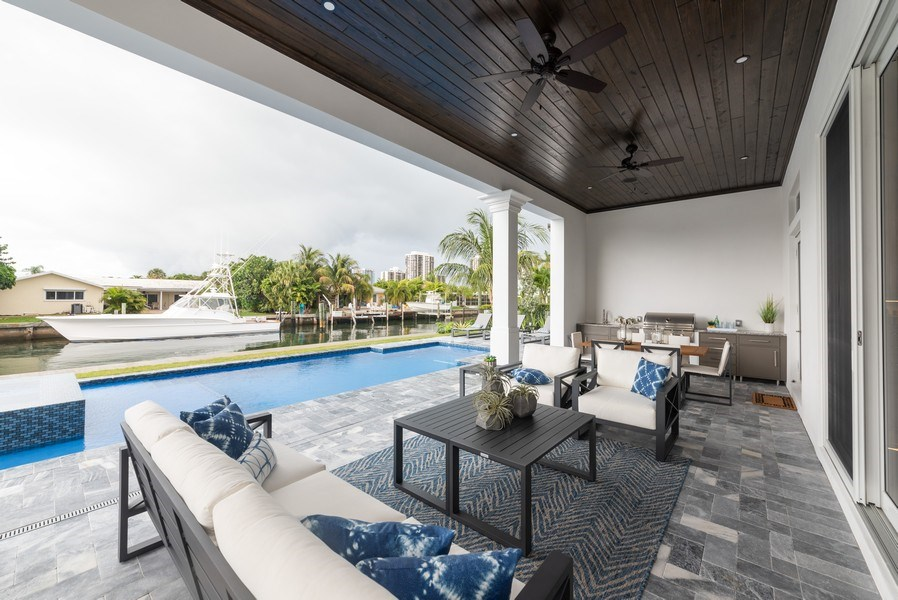 Real Estate Photography - 1200 Bimini Lane, Singer Island, FL, 33408 - Patio