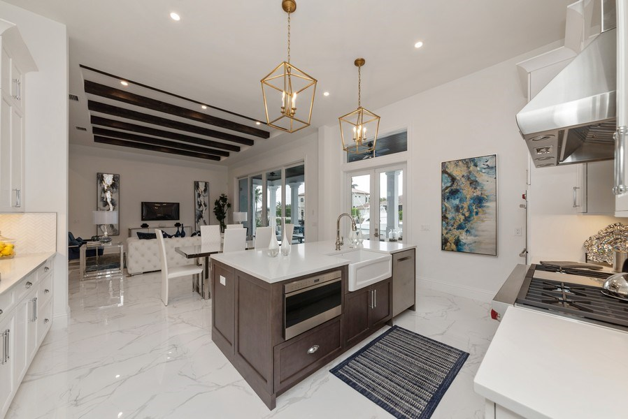 Real Estate Photography - 1200 Bimini Lane, Singer Island, FL, 33408 - Kitchen / Living Room