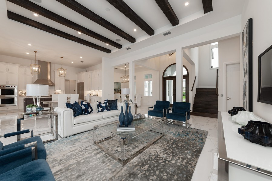 Real Estate Photography - 1200 Bimini Lane, Singer Island, FL, 33408 - Living Room / Dining Room