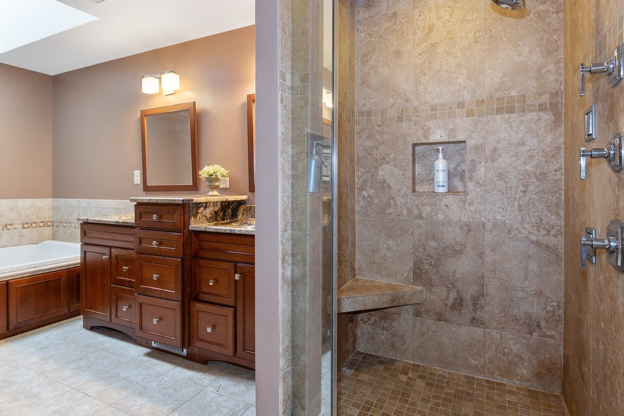 Real Estate Photography - 441 Clearbrooke Ter, Cottage Grove, WI, 53527 - Master Bathroom