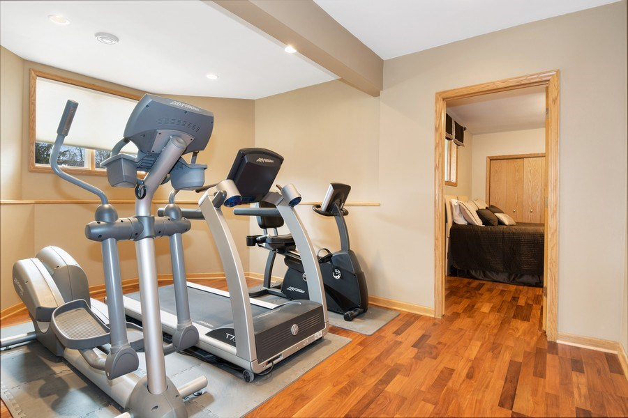 Real Estate Photography - 441 Clearbrooke Ter, Cottage Grove, WI, 53527 - Exercise Room