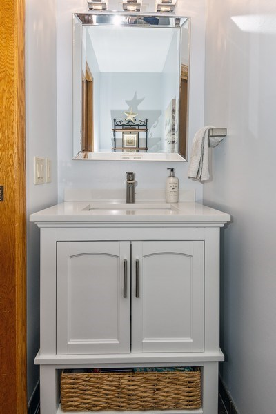Real Estate Photography - 441 Clearbrooke Ter, Cottage Grove, WI, 53527 - Powder Room