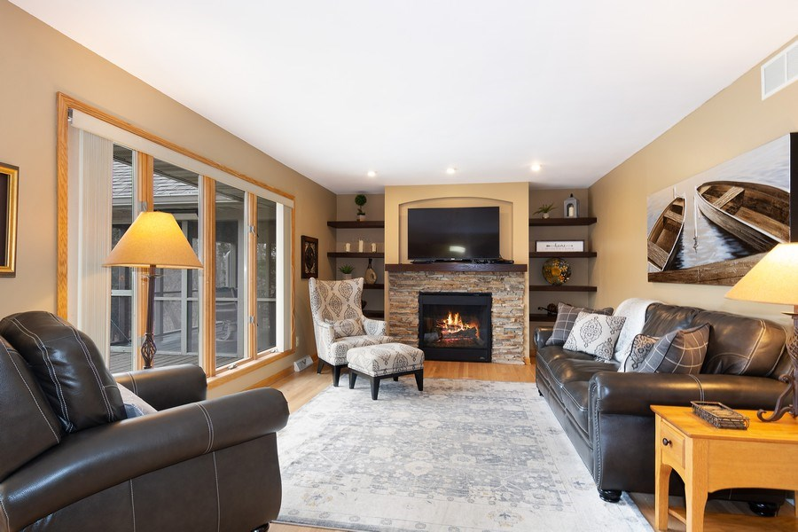 Real Estate Photography - 441 Clearbrooke Ter, Cottage Grove, WI, 53527 - Family Room