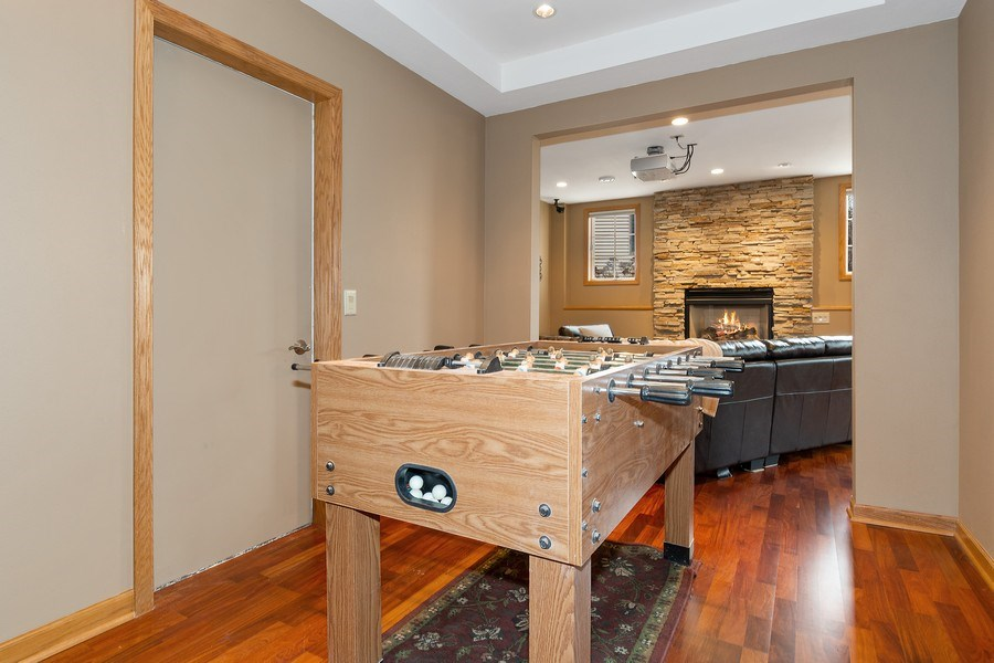 Real Estate Photography - 441 Clearbrooke Ter, Cottage Grove, WI, 53527 - Game Room