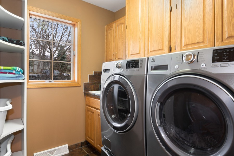 Real Estate Photography - 441 Clearbrooke Ter, Cottage Grove, WI, 53527 - Laundry Room