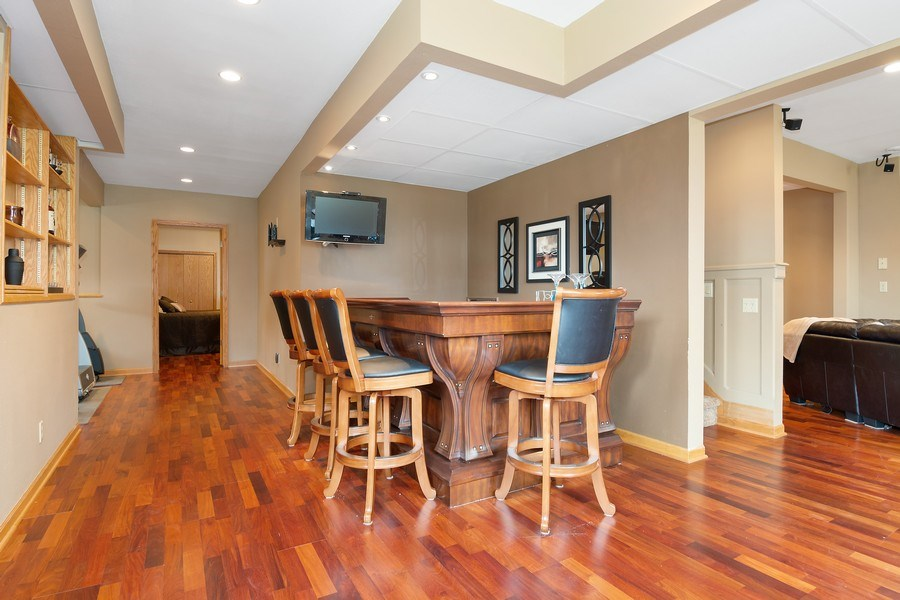 Real Estate Photography - 441 Clearbrooke Ter, Cottage Grove, WI, 53527 - Bar