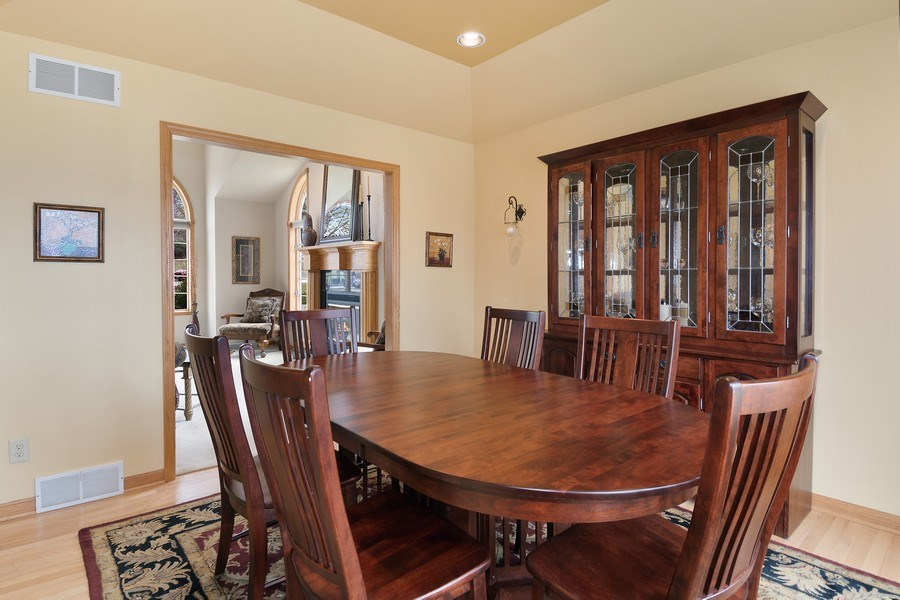 Real Estate Photography - 441 Clearbrooke Ter, Cottage Grove, WI, 53527 - Living Room / Dining Room